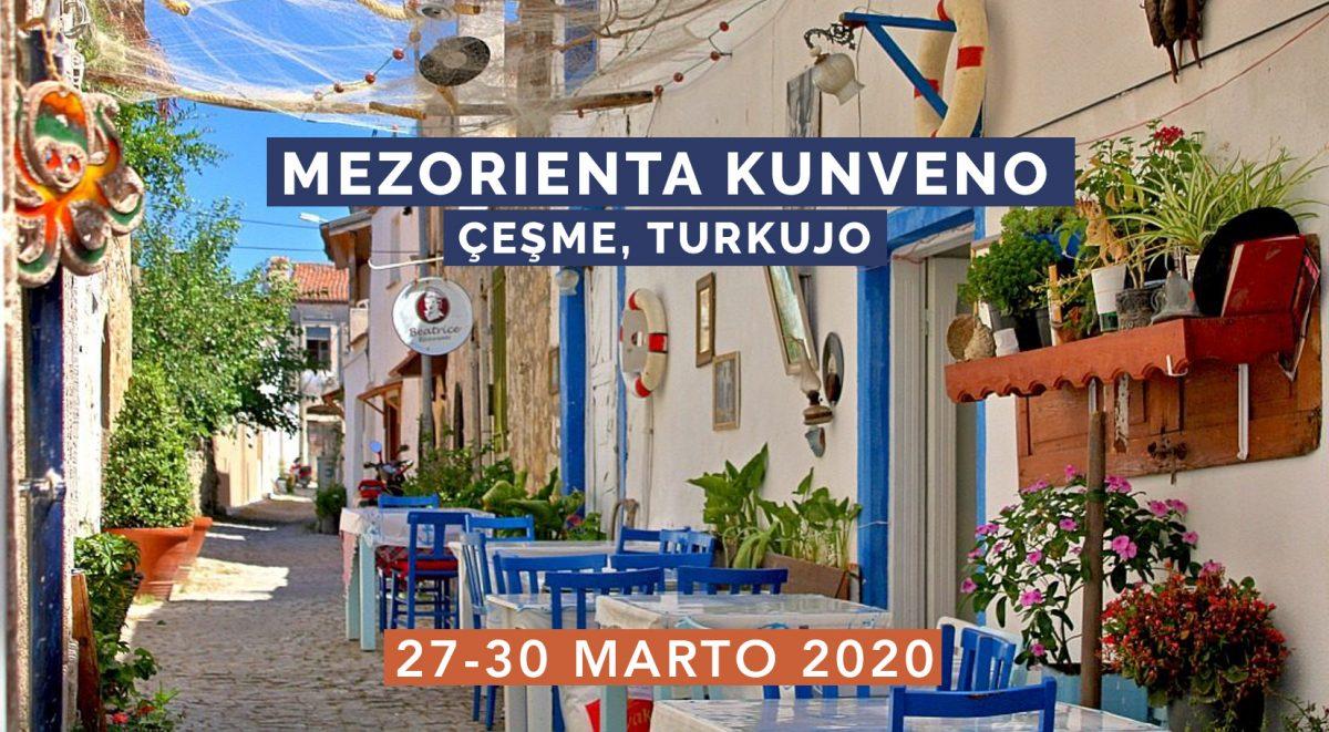 13ème Rencontre moyen-orientale d'espéranto, 27-30 mars 2020, à Çeşme (Turquie)