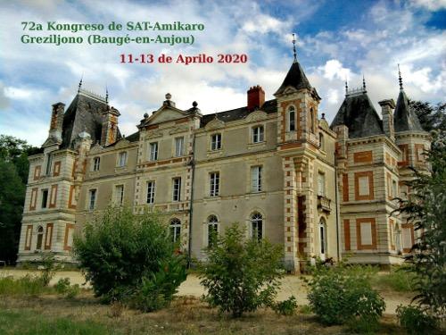 72ème Congrès de SAT-Amikaro, 10-14 avril 2020, à Grésillon