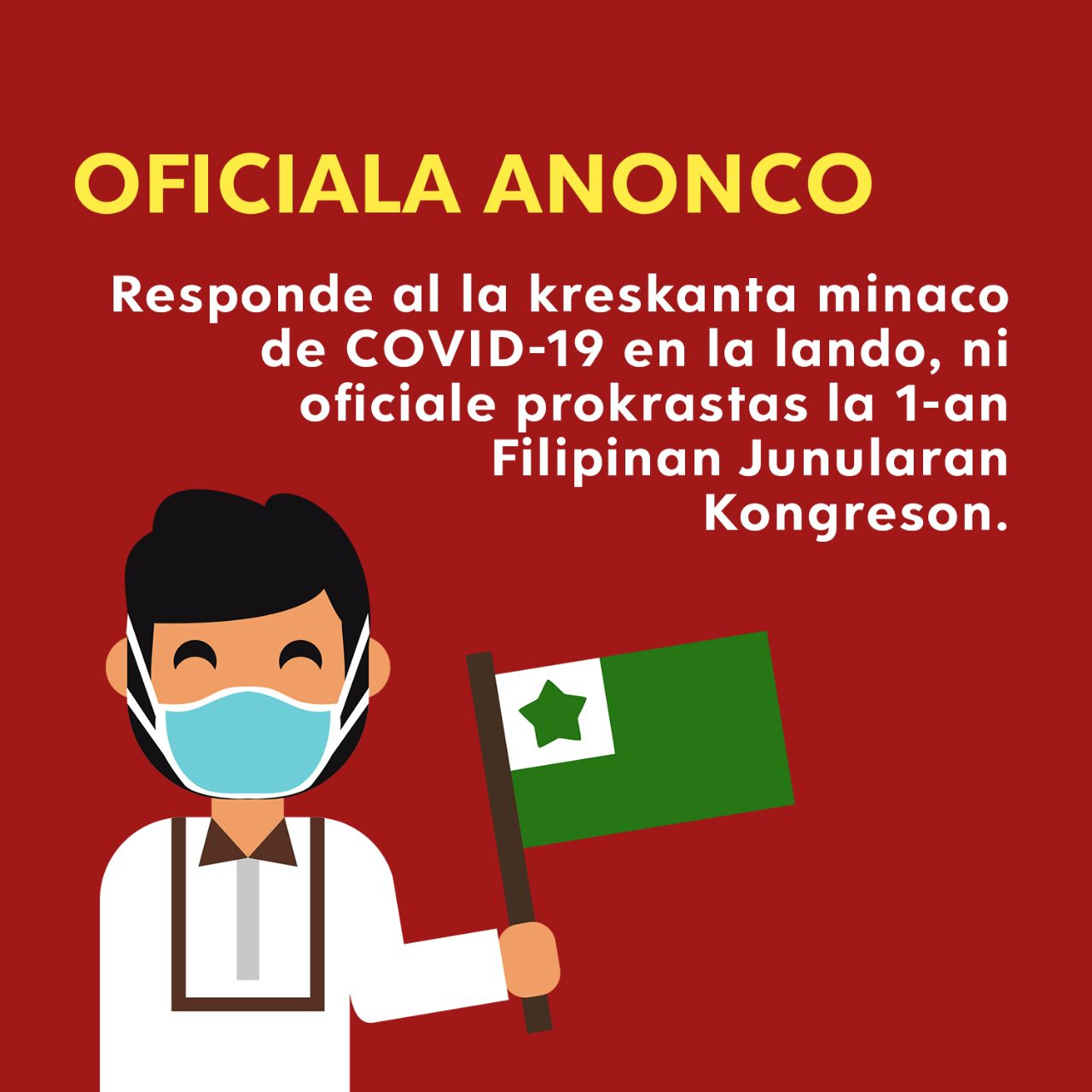 REPORTÉ - 1er Congrès des jeunes espérantophones de Philippines