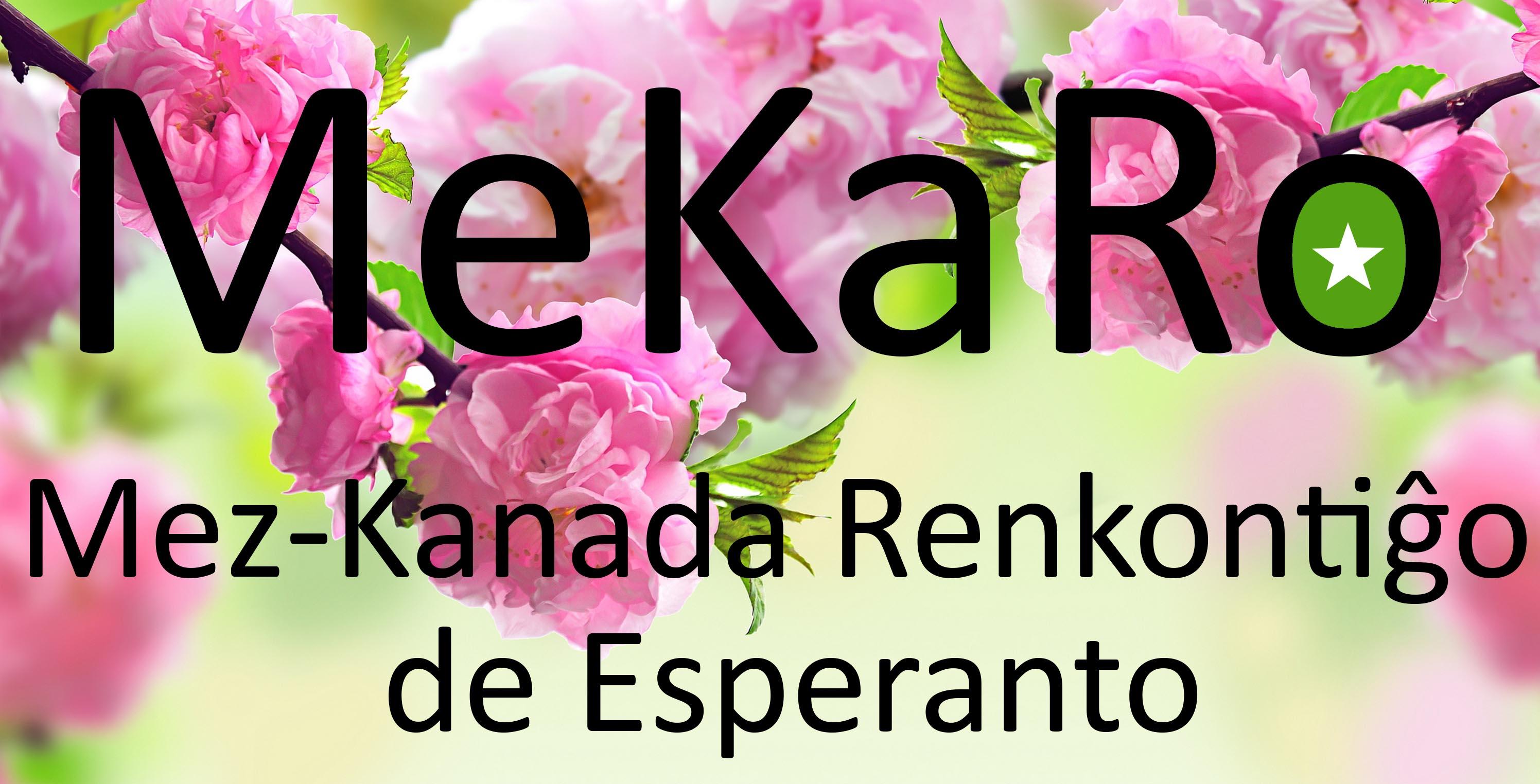 Rencontre d'espéranto du centre-est canadien, à Kingston (Ontario), du 16 au 18 mai 2020