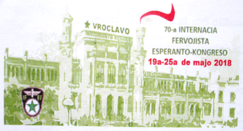 70-a IFEF-kongreso en Wrocław, Pollando, 19-25ajn de majo 2018