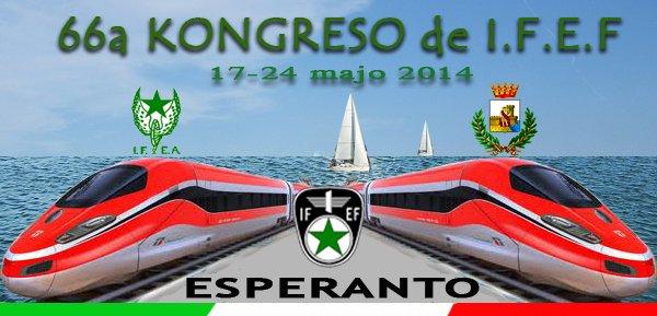 66-a IFEF-kongreso en San Benedetto del Tronto, Italio, 17-24ajn de majo 2014